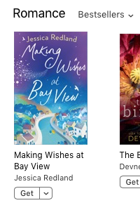Making Wishes - No 1 in Free Romance Chart