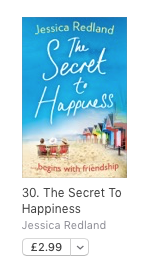 Secret to Happiness - No 30 in Paid Romance Chart